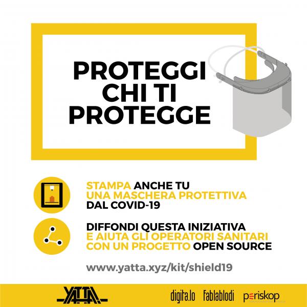 #SHIELD19: aiutaci a proteggere chi ci protegge!